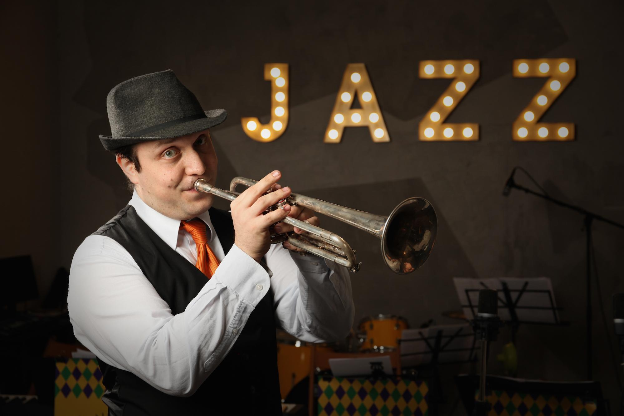 Вечер живого джаза вМоскве